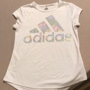 Adidas girls dri fit T-shirt M (10/12)